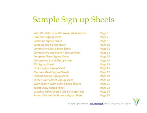 blank sign up sheet well gallery sheets stunning volunteer template