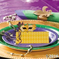 Mardi Gras Table Place Card Template by Mardi Gras Multipurpose Event Ticket Cards Mardi Gras