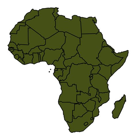 africa map clipart africa clipart clipartfest