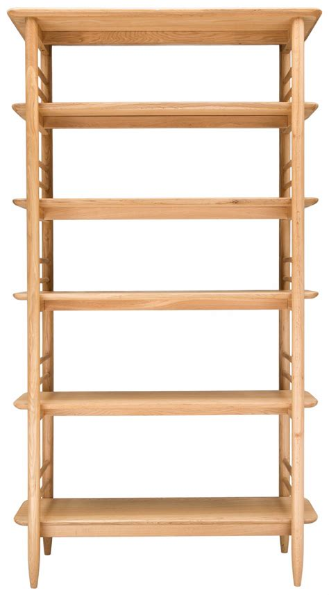 ercol teramo open shelving unit large bookcases