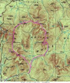 loop trail map pemigewasset wilderness