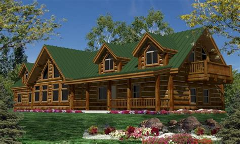 luxury log homes plans single story log cabin homes plans single story luxury