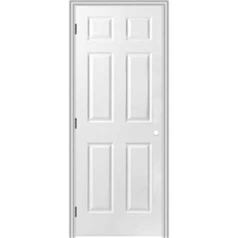 34 Interior Door Shop Reliabilt Prehung Hollow 6 Panel Interior Door Common 34 In X 80 In Actual 35 5 In