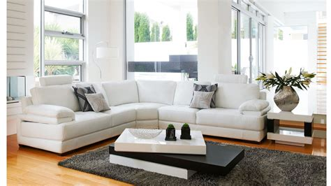 white leather recliner lounge suite sleek and in its design the tahiti lounge suite