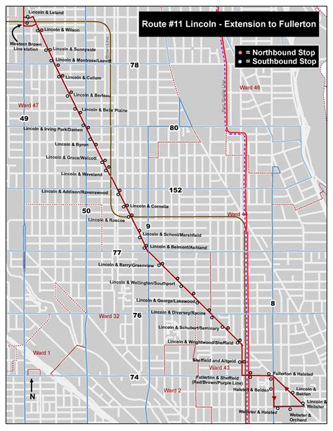 Chicago Truck Routes Map by Cta 11 Lincoln Route Extension Pilot Summer 2016