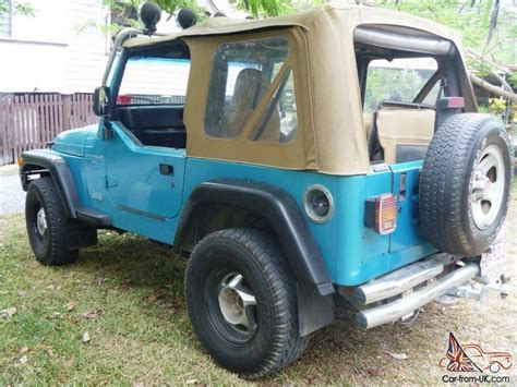 jeep wrangler 2 4l manual 1997 car for sale jeep wrangler sport 4x4 1997 2d softtop 5 sp manual 4x4 4l in macleay island qld