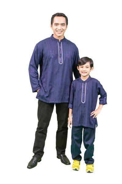 Baju Koko Anak Ayah Labella til matching dengan baju koko ayah dan anak sentra