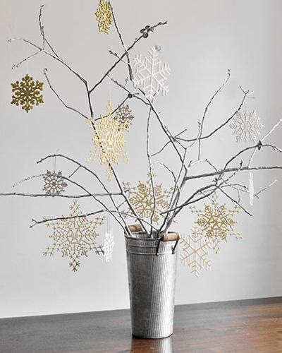 diy decorations branches winter on snowflakes snowflake centerpieces and winter centerpieces
