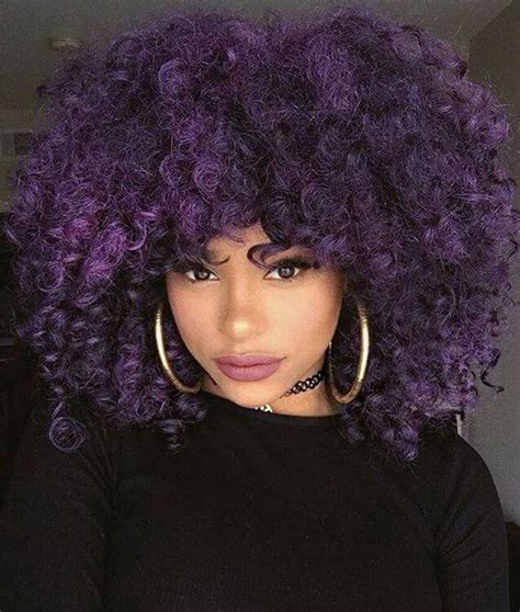 purple hair for black women find out what makes your natural hair beautiful