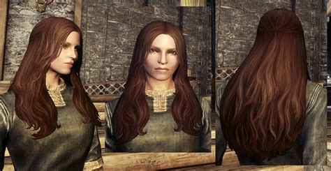 best hair mod for skyrim lore styles hair set at skyrim nexus mods and community