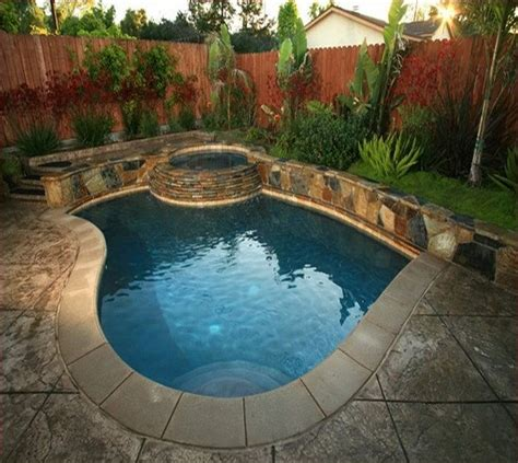 pool ideas for backyards 269 best images about small inground pool spa ideas on