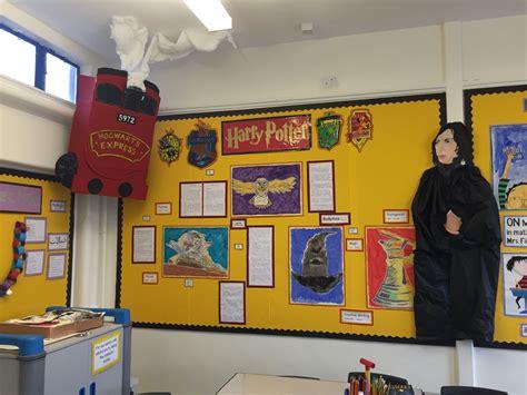 themes ks2 harry potter display board teacher ideas pinterest
