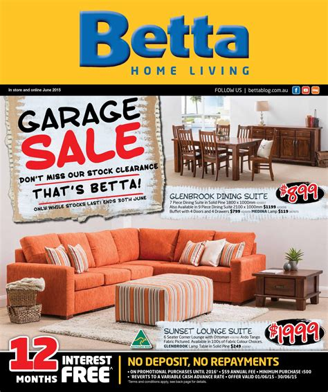 betta home living furniture catalogue june 2015 by echo