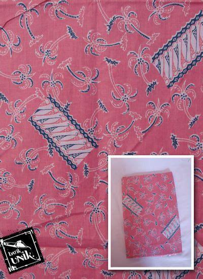 Kain Batik Sarung Batik Katun kain batik katun print motif kelapa parang anyam kain