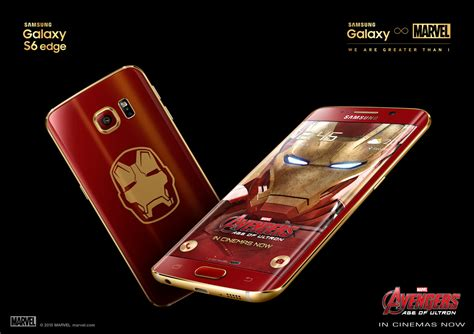 wallpaper samsung galaxy s6 edge ironman galaxy s6 edge iron man edition is now official launches