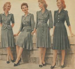 How to date women s vintage fashion from the 1940s