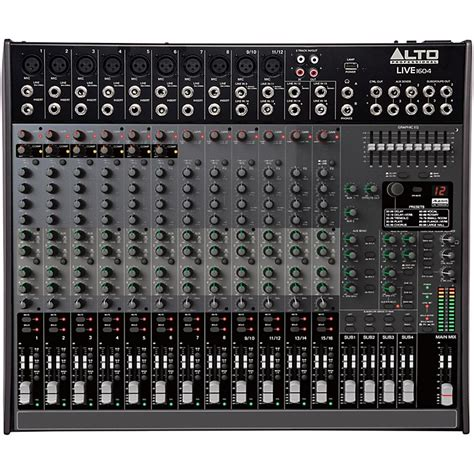 Mixer Alto Live alto live 1604 16 channel 4 mixer musician s friend