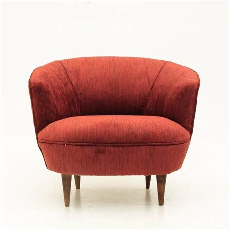 red velvet armchair red velvet armchair 1950s at 1stdibs
