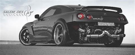 pics for gt godzilla evolution rear engined nissan gt r rendered as porsche trolling