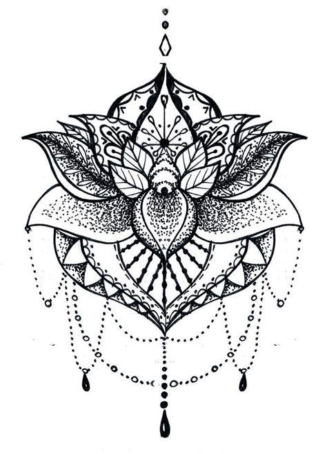 mandala tatuaz znaczenie kwiat lotosu