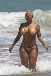 nsfw amber rose goes topless in barbados shows off her amber rose page 2 chubby parade