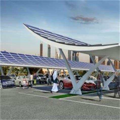tettoia fotovoltaica pensilina fotovoltaica made in italy presentata a dubai