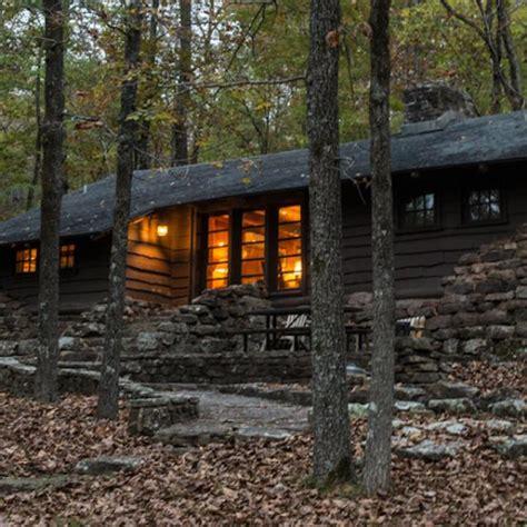 park cabin cabins arkansas state parks