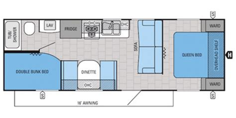 jay flight rv floor plans 2015 jayco jay flight slx 264bhw floorplan prices values