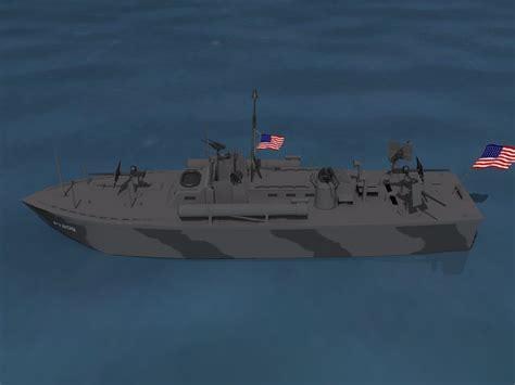 pt boat elco elco pt boat pt 209 3d model rigged max obj 3ds lwo