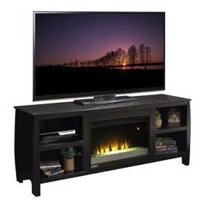 modern tv stand with fireplace furnitech contemporary tv stand with electric fireplace