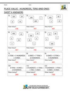 second grade place value worksheets abitlikethis
