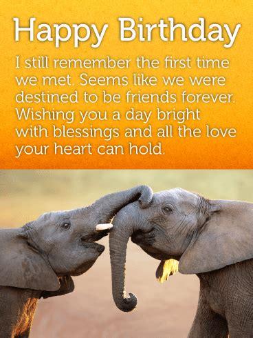 1st Happy Birthday Quotes Best Elephant Friends Happy Birthday Card Birthday