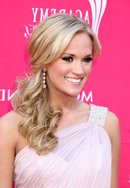 easy hairstyles on gown cute hairstyles for one shoulder dress buzfr