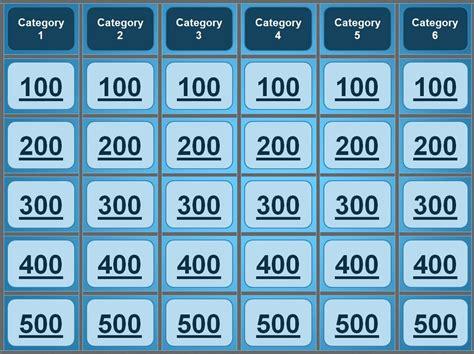 blank jeopardy template blank jeopardy template best of jeopardy powerpoint