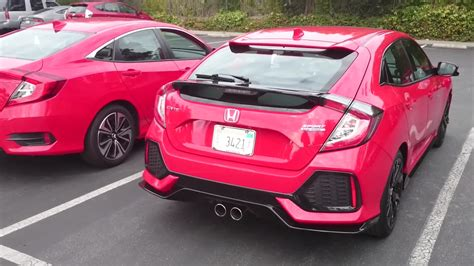 we drive the hondata tuned civic sport and compare it to