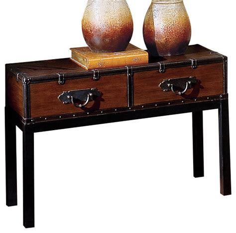 Steve Silver Co Churchill Sofa Table In Chrome Bed Bath Steve Silver Voyage Sofa Table Traditional Console
