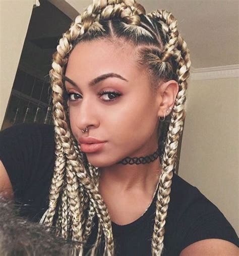 blonde hairstyles braids 20 eye catching ways to style dookie braids