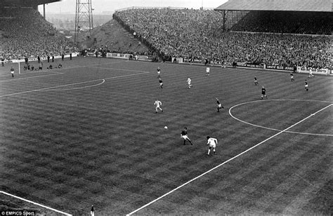 Football s golden years from hampden to the dell daily mail