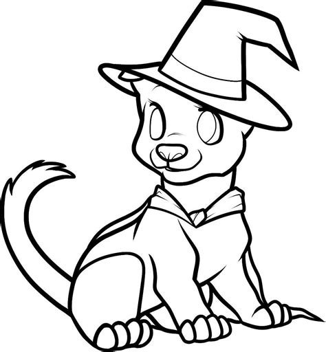 cute coloring pages for halloween print cute halloween coloring pages dog or download cute