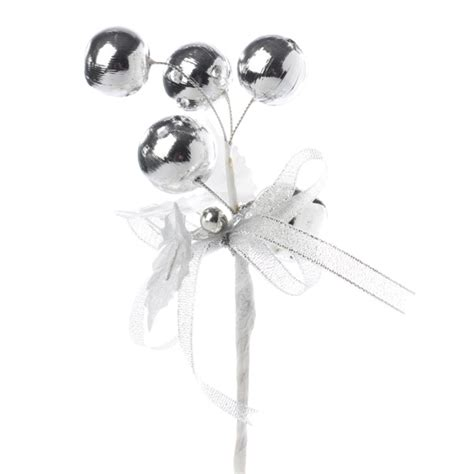 Wedding Anniversary Jingles by Silver Jingle Bell And Ornament Anniversary 25th
