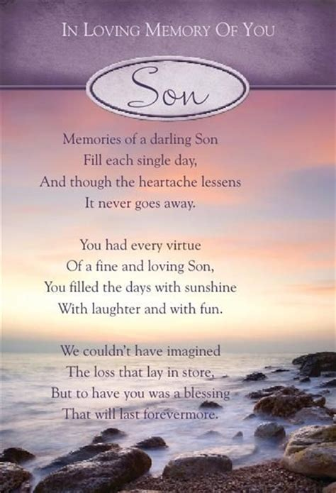 In Memory Birthday Quotes Graveside Bereavement Memorial Cards A Variety You Choose