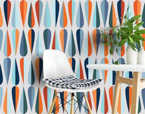 mid century modern wallpaper mid century modern wallpaper retro wallpaper 2017