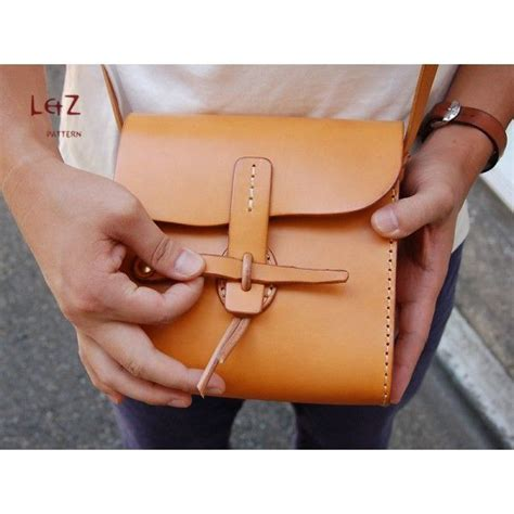 Handmade Leather Purse Patterns - 25 best ideas about leather bag pattern on
