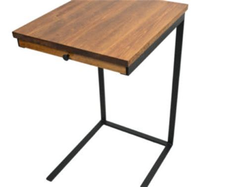 Wood C Table by Tv Tray Table With A Drawer Laptop Desk C Table Side