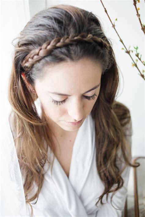 hairstyles let down spring braid tutorial lush to blush