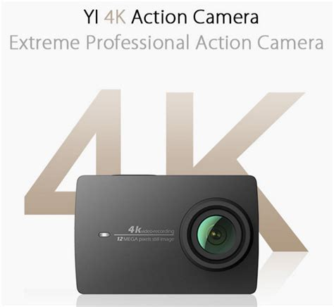 Xiaomi Yi 2 4k Bergaransi Resmi Kamera Xiaomi Yi 2 4k 1 el蜻rendelhet蜻 a xiaomi yi 4k akci 243 kamera napidroid