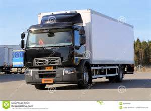 Renault Commercial Dealers Renault Range D Truck On A Test Drive Editorial Photo