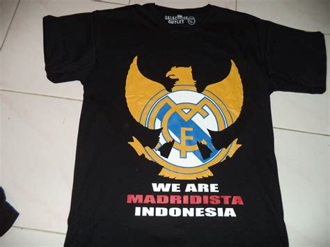 Shirt Kaos Real Madrid Hitam t shirt we are madridista indonesia edition galactico outlet