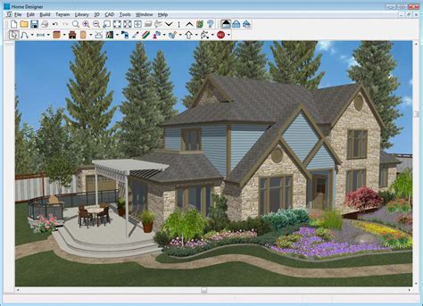 home design software exterior autocad landscape design software free bathroom design