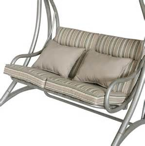 Replacement Patio Swing Seat Leisuregrow Gold Coast Cushions Swing Seat 3 Seat